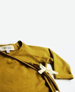 Kimono vest gold