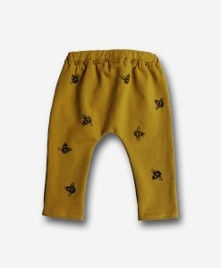 Pants gold bees