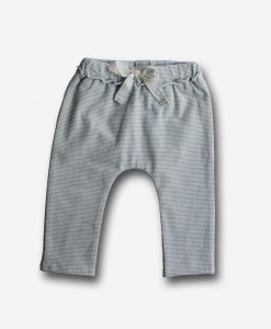 Pants gray stripe