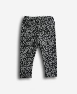 pants taupe leopard
