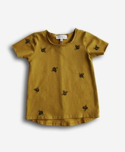 T-shirt gold bees
