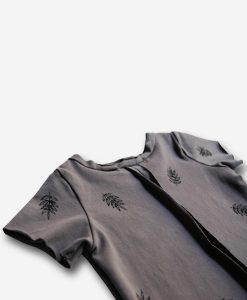 taupe botanic t-shirt