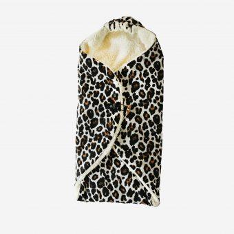 Wikkeldeken leopard