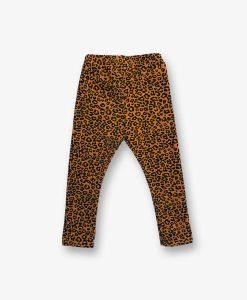 Legging ochre leopard
