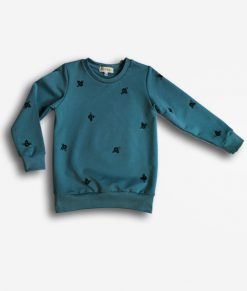 Sweater blue bees