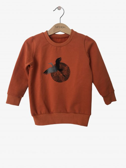 sweater pumpkin cranebird